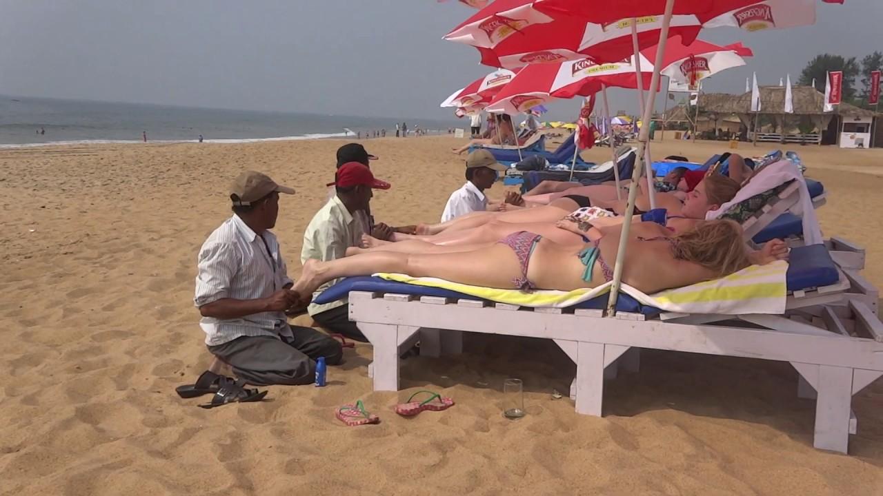 Sex massage on the beach goa