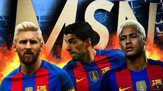 Trio MSN - The Magic Of Football 2016/17 ● Messi - Suarez - Neymar | HD