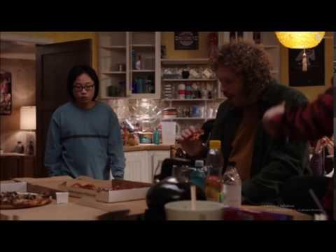 Erlich Bachman Barking at Jian Yang (Silicon Valley Season 3 Episode 3)