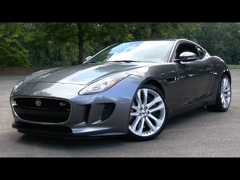2016 Jaguar F-Type S Coupe (6-spd manual) Start Up, Road Test, and In Depth Review