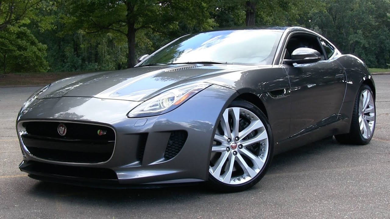 2016 Jaguar F Type S Coupe (6 Spd Manual) Start Up, Road Test, And In Depth  Review   YouTube