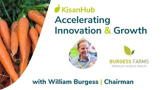 KisanHub speaks to William Burgess on Innovation | Highlights version