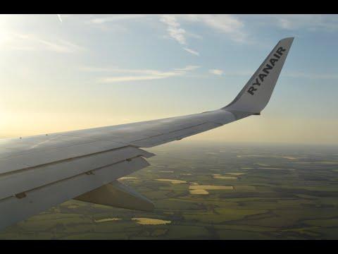 Ryanair FR5179 Billund (BLL) - London Stansted (STN) *FULL FLIGHT* Boeing 737-800 EI-DPW 6/6/15 ...
