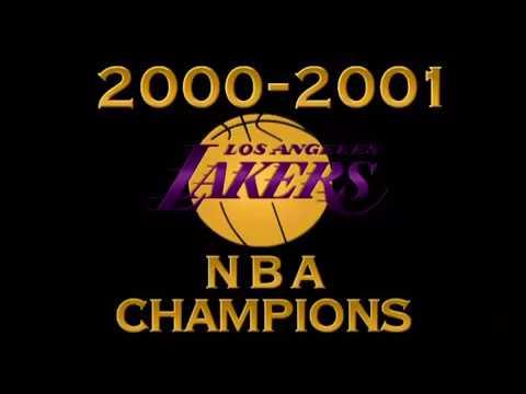 2000 / 01 Los Angeles Lakers - Championship movie
