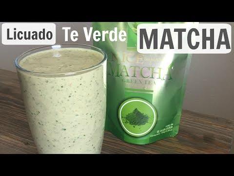 DELICIOSO Licuado Te Verde MATCHA