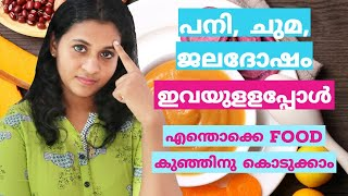 15 Best Food for Cough, Cold and Fever in Babies and Toddlers Malayalam| MommaCool