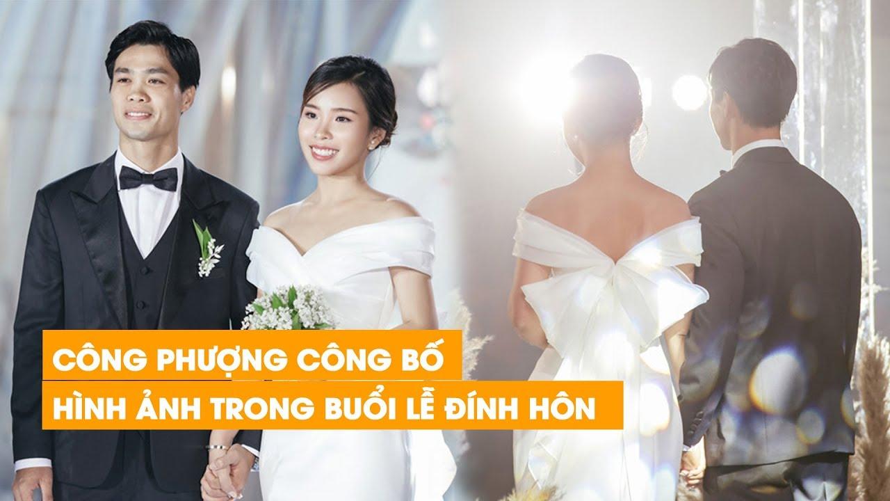 Công Phượng lần đầu công khai vị hôn thê xinh đẹp qua bộ ảnh đính hôn lung linh