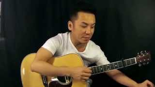 LR Baggs M80 Pickup Demo on a Martin HD35 Review in Singapore