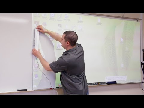 Mimio Teach: an affordable interactive whiteboard system (demo/review on how it works)