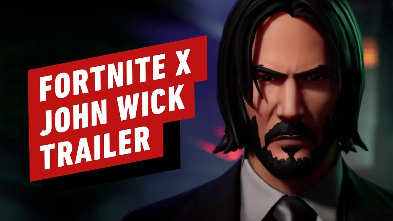 Fortnite X John Wick Wick S Bounty Trailer Youtube