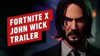 Fortnite X John Wick: Wick's Bounty Trailer