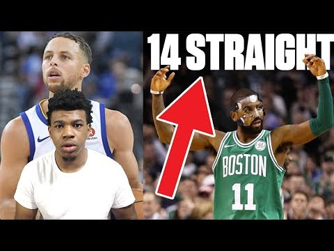 KYRIE IRVING & THE BOSTON CELTICS BEAT THE WARRIORS !!! ALL BOSTON CELTIC FANS WATCH THIS! REACTION