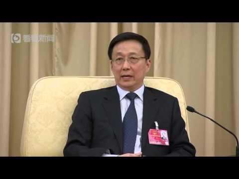 聚焦全國兩會 | 韓正:上海願和台灣在各方面進一步加強交往,為兩岸和平發展作貢獻
