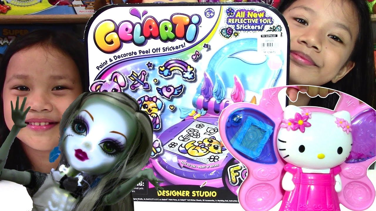 Gelarti Designer Studio Hello Kitty Crystal Creation Monster High Ghoul's Alive - Kids' To