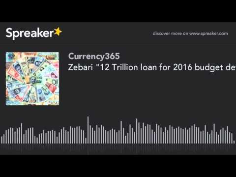 "Zebari ""12 Trillion loan for 2016 budget deficit"""