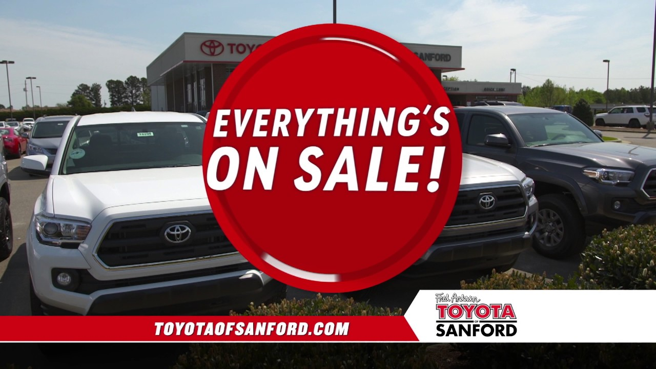 Fred Anderson Toyota Of Sanford Thank You Celebration Youtube