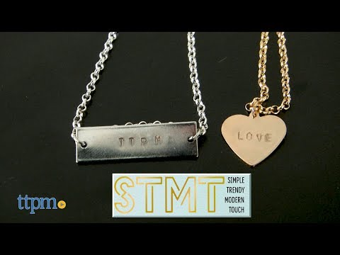 STMT D.I.Y. Hand Stamped Jewelry from Horizon Group USA