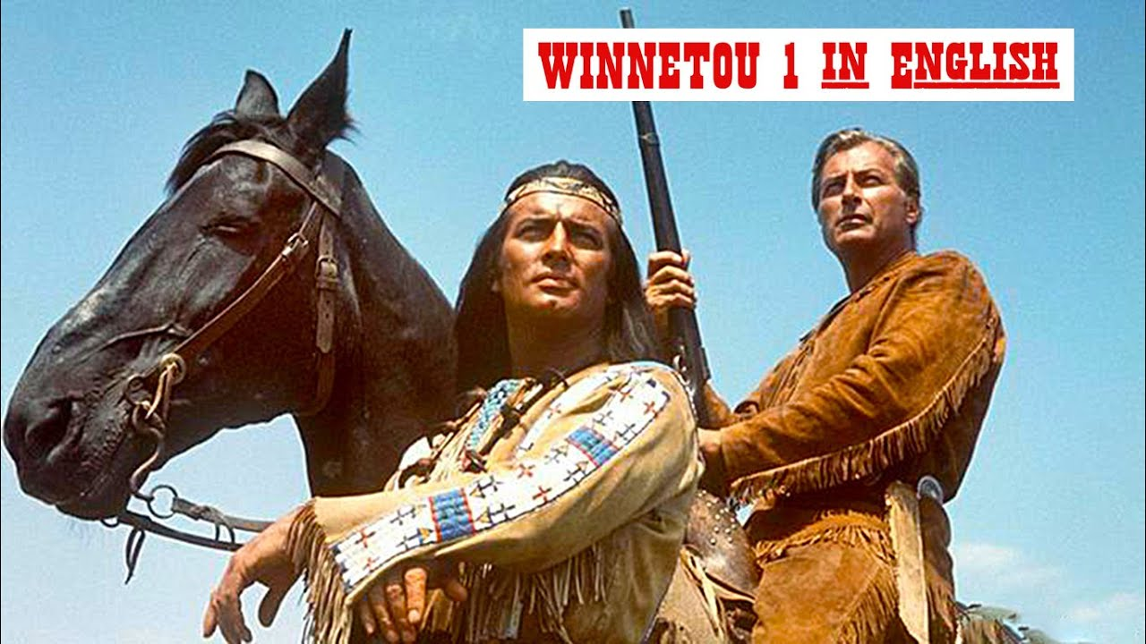 Winnetou part 1   ENGLISH Audio. 1963 a film by Karl May's book. Part 2 & 3 links in description