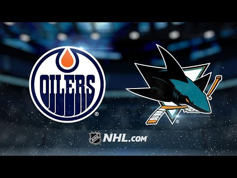 Four-goal 2nd period powers Sharks past Oilers, 5-2