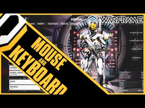 DK Plays: Warframe (MOUSE AND KEYBOARD)