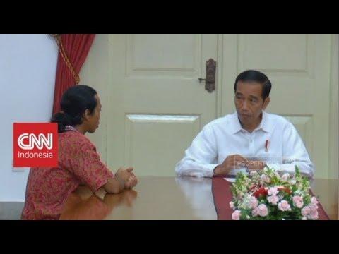 Pria Ini Jalan Kaki Dari Mojokerto Untuk 'Curhat' Ke Jokowi, Presiden Kaget Pungli Masih Ada