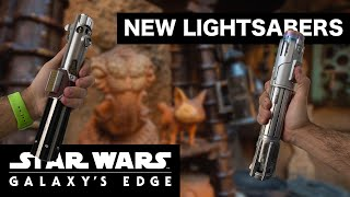 NEW Lightsabers in GALAXY'S EDGE!