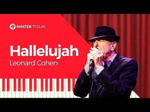 💎Leonard Cohen - Hallelujah - Piano tutorial - Master Teclas💎
