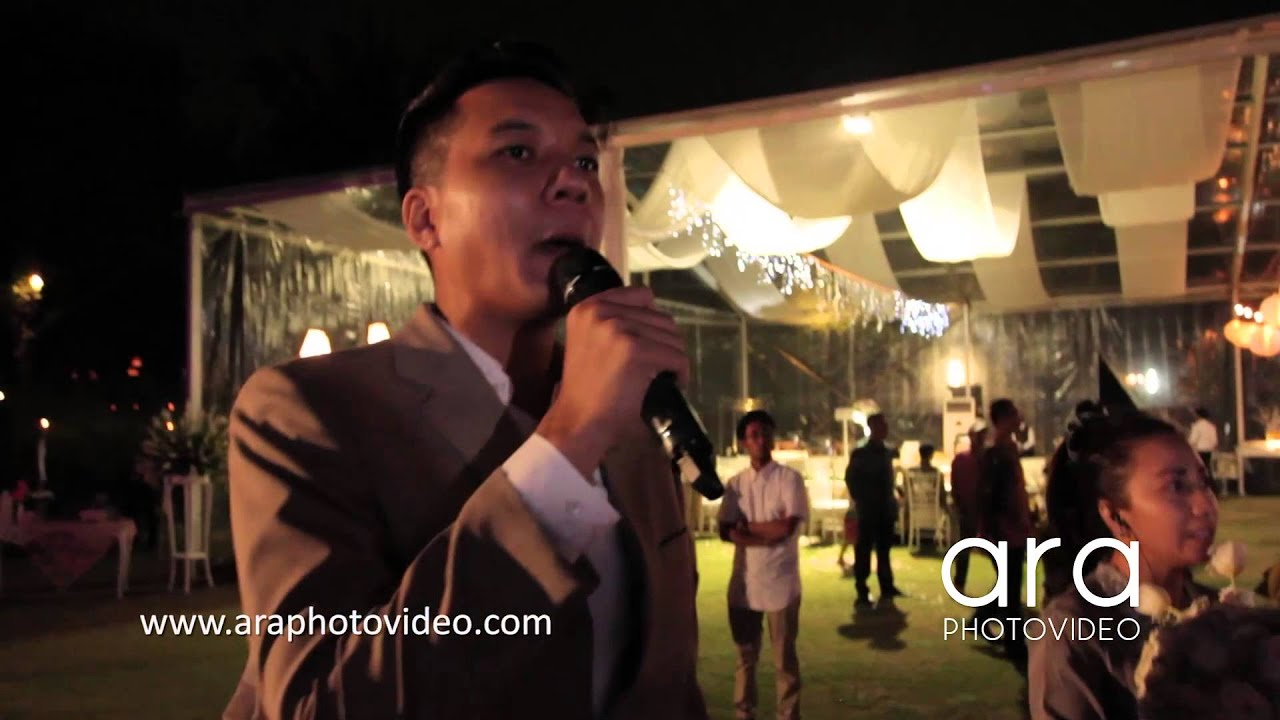 Wedding MC Norman Ario Bimo for Eleni & Ken Wedding Plataran