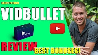 VidBullet Review - 🛑 STOP 🛑 YOU 1001% HAVE TO WATCH THIS 📽 BEFORE BUYING 👈