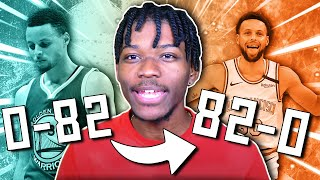 THE IMPOSSIBE 0-82 TO 82-0 CHALLENGE 2.0 IN NBA 2K20