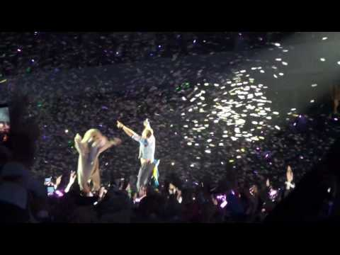 Coldplay LIVE Gothenburg - A Sky Full of Stars + 1 dancing elephant - June 25th 2017