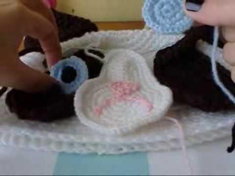 Tutorial Ojos Amigurumi : Como coser pupilas (ojos) con lana. Por Amigurumi Universe ...