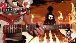 Guitar Cover || Guren no Yumiya - Shingeki no Kyojin (+Tabs & Backing Track!)