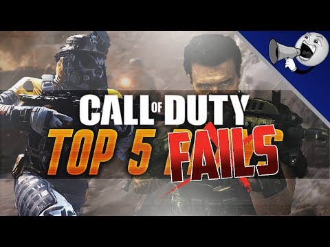 Call of Duty Top 5 Fails #17: The Biggest Noobs Ever!! (COD Not Top 5) thumbnail
