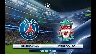 PSG vs Liverpool | UEFA Champions League | PES 2018 Gameplay HD