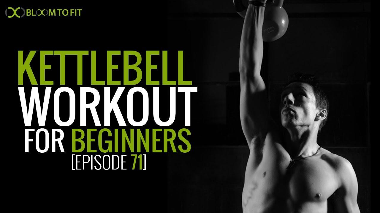 Fun 15 Minute Full-Body Kettlebell Workout for Beginners [Episode 71]