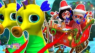 We Wish You a Merry Christmas with Lyrics - Christmas Songs for Kids & More Rhymes for Babies