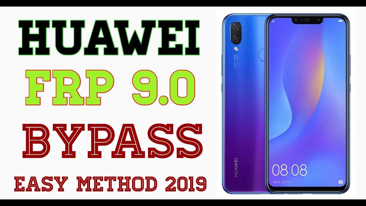 Frp Bypass Huawei Nova 3i Easy Method 2019/ Huawei Frp Bypass Latest Version
