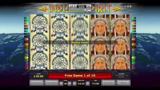 Indian Spirit Slot - Huge Win - Novomatic