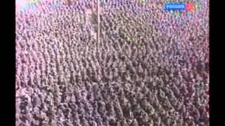 Прогон немцев через Москву Парад пленных немцев