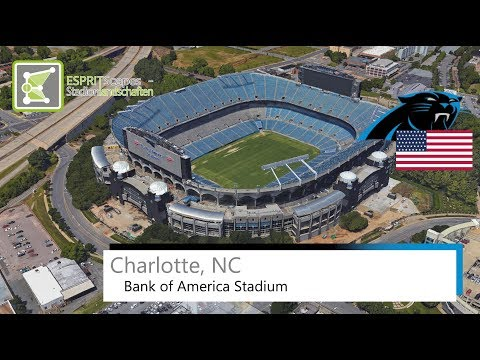 Charlotte, NC - Bank of America Stadium / 2014