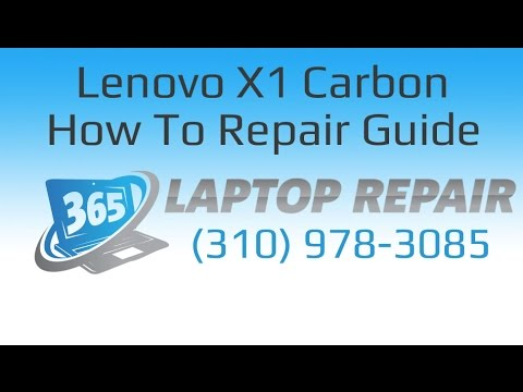 Lenovo X1 Carbon Repair