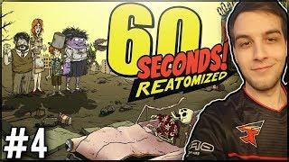 WYZWANIA PO CZAPKI I SKINY! - 60 Seconds! Reatomized #4