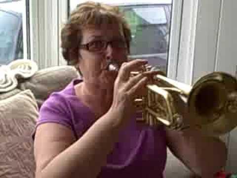 Beth Carlisle on trumpet