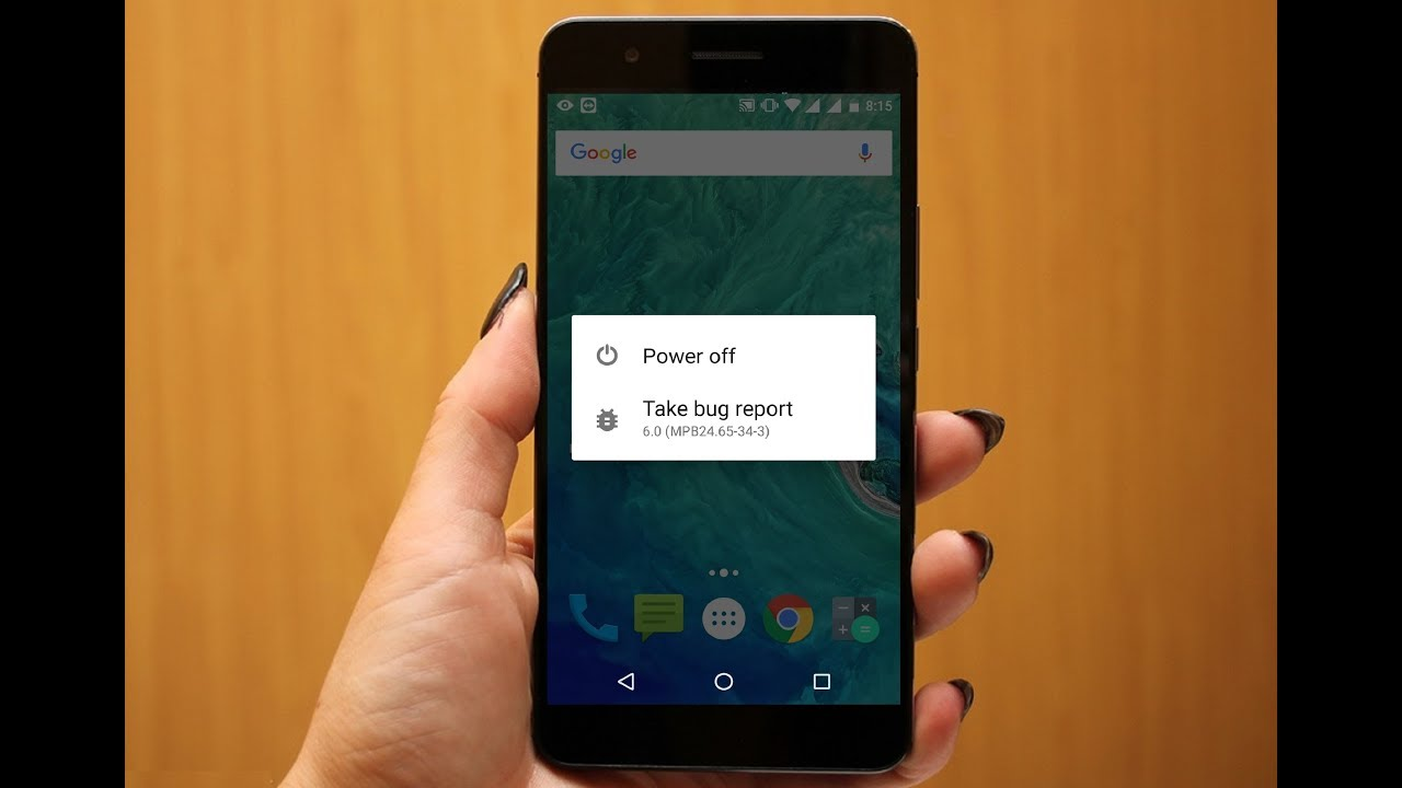 "How to Fix/Disable ""Take Bug Report"" In Android Phone & Tablet"