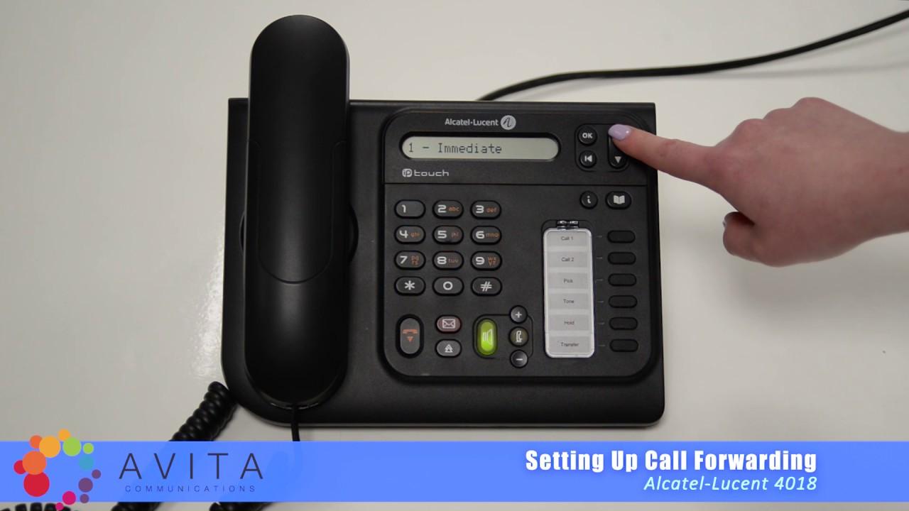 how to set up call forwarding alcatel lucent 4018 youtube rh youtube com Telefono Alcatel One Touch manual telefono alcatel 4020 premium reflexes