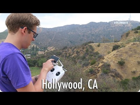 Flying Around Hollywood YouTube Space Party | Evan Edinger Travel