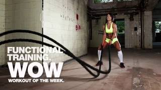 Functional Training: Tabata Battle Ropes with Tim Burrow and Paul Gillingham