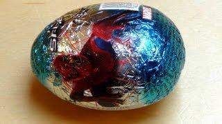 Spiderman Surprise Egg