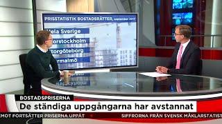 Bostadspriserna har avmattats - Nyheterna (TV4)